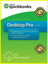 INTUIT QuickBooks Desktop Pro2018🔥lifetime Activated🔥1 years Warranty 3 User ✅