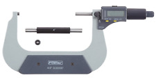 "Fowler 54-860-005-0 Electronic Coolant Resistant Micrometer, 4-5""/100-125mm"
