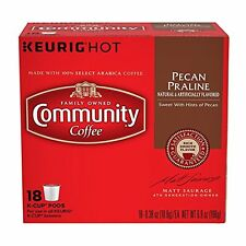 Community Coffee Pecan Praline K-Cups, 18 count