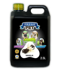 Fresh Pet Cleaner for Dogs & Cats - Vanilla -  2.5L Black