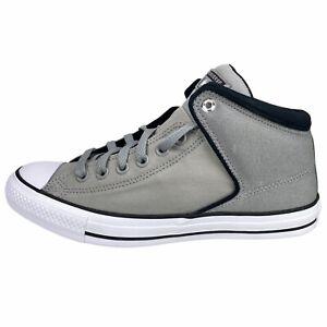 Converse Chuck Taylor All-Star High Street Hi Gray Canvas Sneaker Shoe 165347C