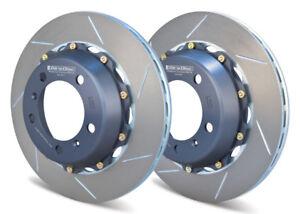 Girodisc Rear 325mm 2 Piece Rotor Upgrade For Porsche 987 Bosxter S/Cayman S