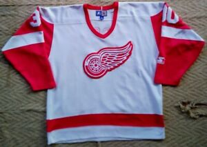 Vintage Chris Osgood #30 Starter jersey Detroit Red Wings. Hockey NHL. Size. L