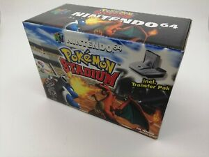 Pokemon Stadium - Nintendo 64 - N64 - NEW - FACTORY SEALED