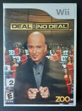 Deal or No Deal Nintendo Wii Game - Brand New - Sealed Still Shrink Wrapped