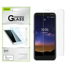 For NOKIA C2 Tava/Tennen Tempered Glass Screen Protector Shockproof Guard Clear