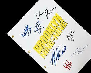 Brooklyn Nine-Nine TV Script Signatures Autographs Reprint Andy Samberg Crews