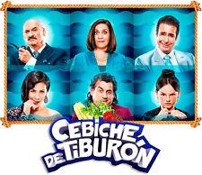 CEVICHE CEBICHE DE TIBURON  DVD CINE PERUANO PELICULA PERUANA NUEVA SELLADA