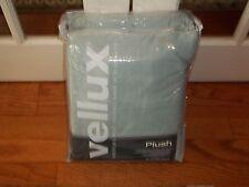 NIP West Point Vellux Mist Gray Plush Heavyweight Fleece Full/Queen Blanket