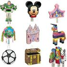 Pinata Fête D'anniversaire Enfants Jeu Fête Disney Dessus 15 Designs Disponib
