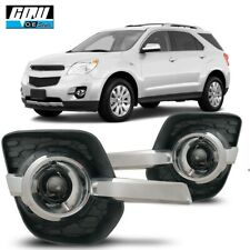 10-16 Fit Chevy Equinox Clear Lens Pair OE Fog Light Lamp+Wiring+Switch Kit DOT