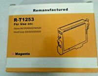 LOT OF 3 ( 2 MAGENTA & 1 CYAN )  RE-MANUFACTURED R-T1252  R-T1253
