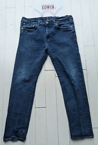 EDWIN - ED80 Slim Tapered Jeans 36 x 30 - Cool Designer Jeans