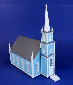 Atlas HO Scale Built-Up 19th Century Church Building 708