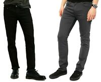 Mens Levis 511 Slim Fit Jeans Zip Fly Cotton Denim Casual Stretch Pants 38-40 in