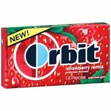Orbit Sugar Free Gum Strawberry Remix 12 pack (14 ct per pack)