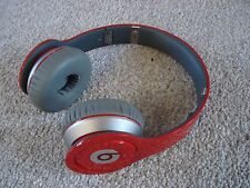 LikeNew Beats by Dr. Dre Solo HD Headband Wireless Headphones - Red