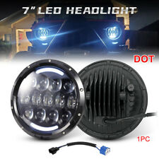 7 inch Osram Round LED Headlight 105W DRL Beam For Jeep Wrangler JK LJ TJ 99-18