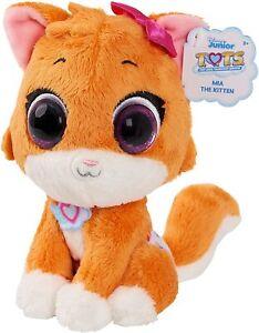 Disney Jr T.O.T.S. Bean Plush Mia the Kitten Stuffed Animal Plush Pal NWT