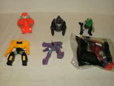 Mcdonalds Transformers 2015 Happy Meal Toys Lot of 6