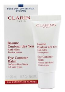 CLARINS Eye Contour Balm Anti Wrinkle Hydrating cream All Skin Type 20ml GENUINE