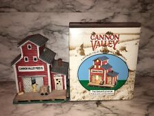 Midwest of Cannon Falls Grain Elevator Lighted House Cannon Valley #12663-9