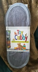 *NEW Kids Net Mesh Toy Cubby, 4 Compartments Organizer for Storing Toys/Clothes