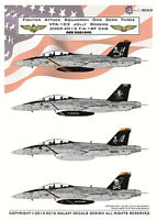 GALAXY Model G72002 1/72 US Navy F/A-18F VFA-103 Jolly Rogers Decal 2009-2015