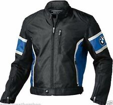 Mens BMW Motorcycle Racing Biker 100% Cowhide Leather Jacket