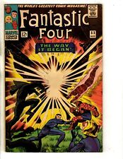 Fantastic Four # 53 FN/VF Marvel Comic Book Black Panther Thing Human Torch FH2