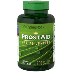 Prostate Aid Support Herbal Complex Saw Palmetto Pygeum 200 Caps