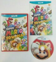 Super Mario 3D World (Nintendo Wii U, 2013) Complete CIB w/ Manual Tested