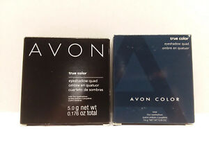 Avon True Color Eyeshadow Quad - You Choose - Discontinued & New
