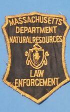 Massachusetts Department Natural Resources Law Enforcement Patch