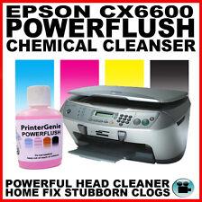 Cabezal De Impresión Kit De Limpieza: Epson CX6600 Cx6400 Boquilla Limpiador & Desatascador