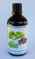 Parasite Cleanse Formula/Organic Wormwood, Black Walnut & Cloves Tincture/100ml