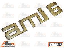 MONOGRAMME NEUF (STICKER) pour coffre / malle de Citroen AMI 6  -1393-