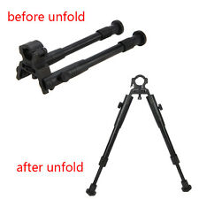 "Adjustable 8"" to 10"" Barrel Mounted clamp-on Foldable Hunting Bipod for Rifle"
