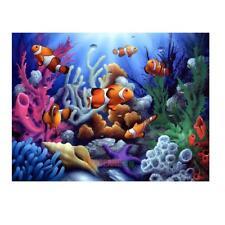 Underwater World 5D Diamond DIY Painting Cross Stitch Kit Home Decor Craft