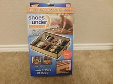 New in the box Telebrands As Seen on TV Shoes under the bed Shoe Organizer