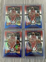 Anthony Davis 2019-20 Prizm Red White Blue 4 Card Refractor Lot! Lakers Hot 🔥