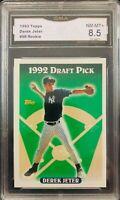 1993 TOPPS Derek Jeter #98 PSA  NM +8.5