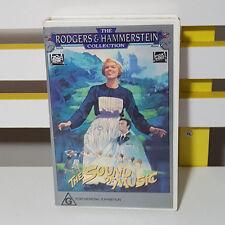 Vhs Video The Sound Of Music Julie Andrews Christopher Plummer