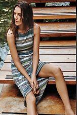 NEW Bailey 44 Gathered Stripes Midi Dress Size XS
