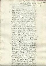 Manoscritto 1719 Eredità da Francesco a Giuseppe Monteleone e Autografi Palermo