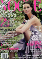 Vogue Magazine Christy Turlington Fashion Age Issue Nora Ephron Ana Ivanovic