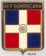 CAL216 - PLAQUE DE CALANDRE AUTO - REP DOMINICANA
