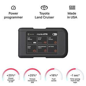 Performance Tuning Tuner Speed OBDII OBD2 OBD 2 II Chip Module Programmer for Toyota Hilux Land Cruiser Matrix Mirai 1996 and newer models