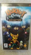 Ratchet & Clank Size Matters For Sony PlayStation Portable PSP - Complete