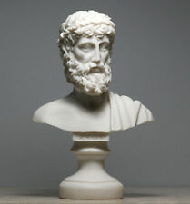 ZEUS Father King of Gods Alabaster Bust Head Statue Sculpture figure Decor 6.3''